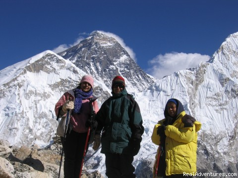 Himalaya tour and Trekking: View from Kalapather, Everest view
