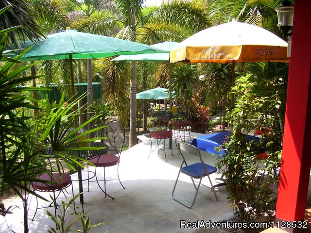 Garden Restaurant corner (#12 of 16) - Swiss Ticino Home Stay & Restaurant - Chiang Mai