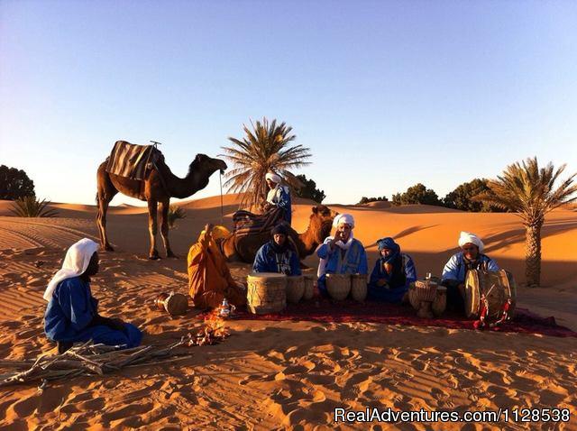 Meharees et Trekking in Merzouga - Ksar Bicha Merzouga Bivouacs