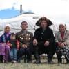 Kazakh family in Western Mongolia