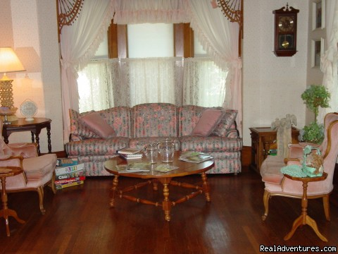 One of the sitting areas - Let Us Spoil You at Charlie-Jane's Bed & Breakfast