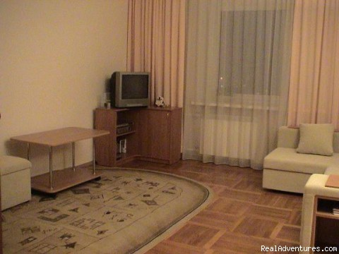 living-room - Apartment for rent in Minsk