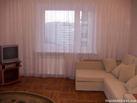 living room - Apartment for rent in Minsk