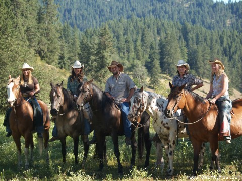 Horseback Riding - All-Inclusive Family Adventure Vacation in Idaho