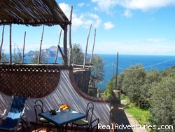 Villa La Palma with beautiful view on Capri