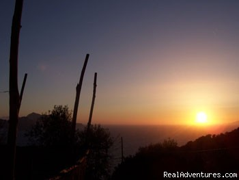Sunset at La Palma - Villa La Palma with beautiful view on Capri