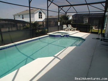 cool crystal clear pool - Luxury Pool Home Accommodation near Disney World