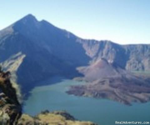 Trekking rinjani volcano mount Lombok Trekking Rinjani volcano