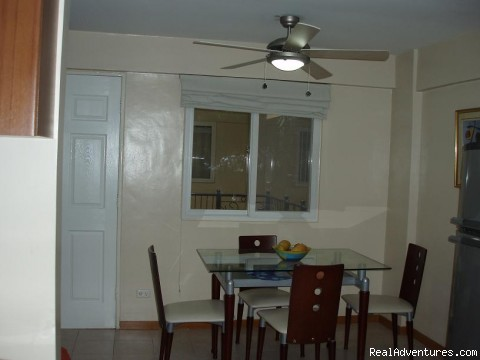 Dining Area - City Resort Residence right in Ortigas