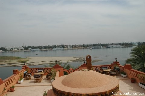 villa al diwan terrace view - Family Vacation rental in Luxor
