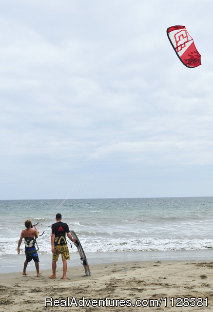 Spanish and Kitesurfing in Ecuador