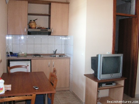 kitchen/lounge - Cavtat apartments for rent FAMILLY