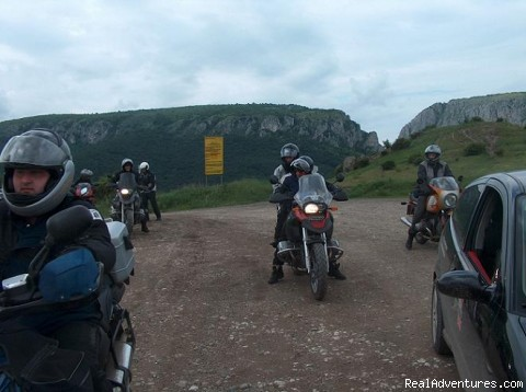 Motorcycle tour in Turda Gorge - Ride under Dracula's wing