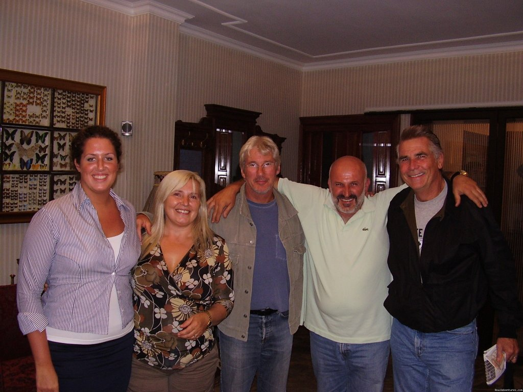 Richard Gere with owners | Image #13/16 | Luxury stay in Sarajevo