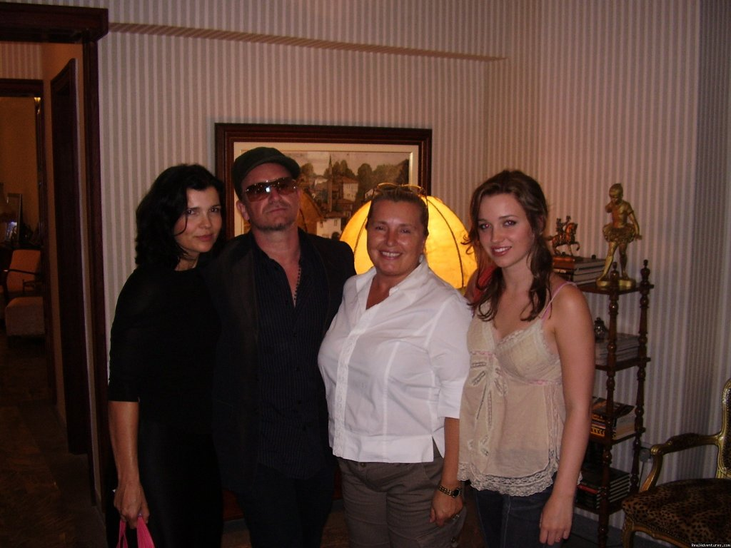 Bono with owner | Image #14/16 | Luxury stay in Sarajevo