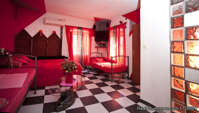 Red apartment - Rooms Meri