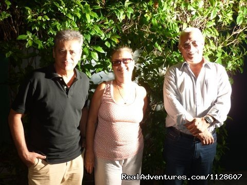 La Casa de Ana B&B. Ana with guests | Image #3/10 | La Casa de Ana,  'Home away from Home'