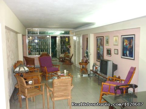 La Casa de Ana central view.Spacious living room with TV . - La Casa de Ana,  'Home away from Home'