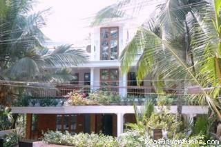 Sankars Front View - Sankars Homestay Trivandrum, Diamond House Approvd