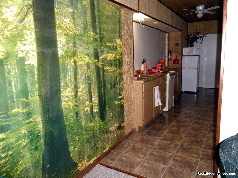 Bunk House Full Galley Kitchen | Image #11/23 | R & R Dude Ranch a year round Country Getaway