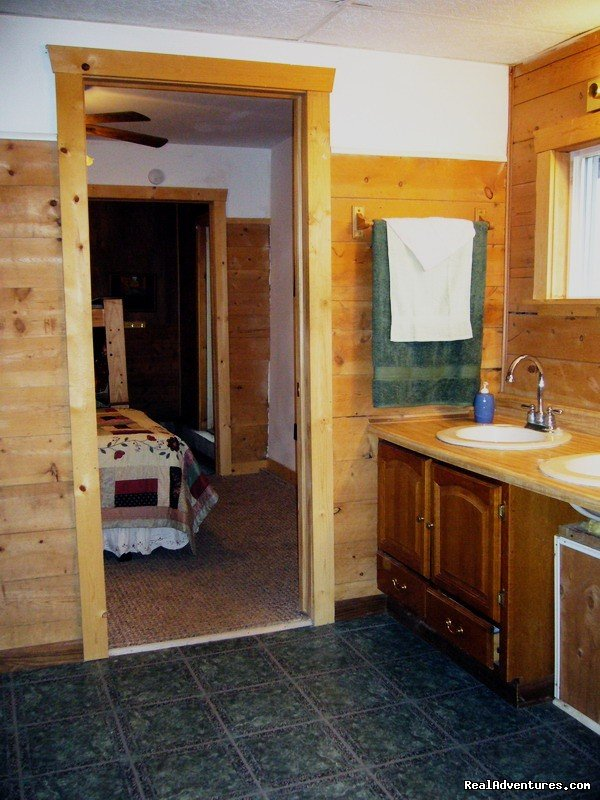 Bunk House Handicapped Bathroom & Bedrooms | Image #12/23 | R & R Dude Ranch a year round Country Getaway