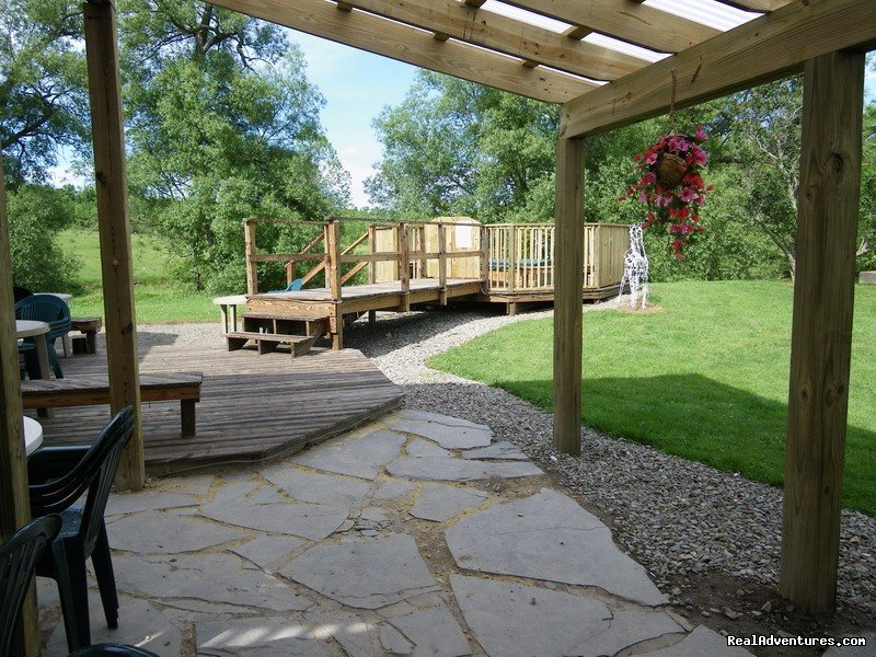 Rain Shine Shelter Patio  | Image #5/23 | R & R Dude Ranch a year round Country Getaway