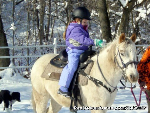 Ride year round at R&R Dude Ranch