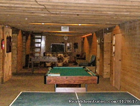 Game Room - R & R Dude Ranch a year round Country Getaway