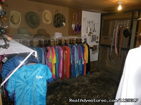 Gift Shop - R & R Dude Ranch a year round Country Getaway