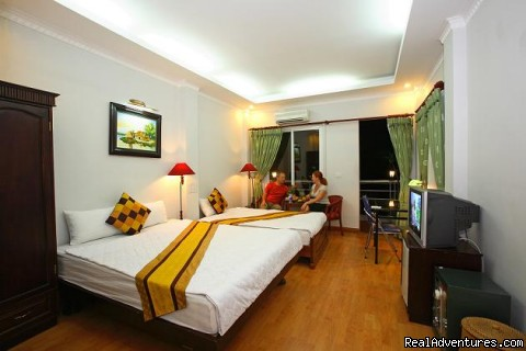 Hanoi  Mikes Hotel  Deluxe room