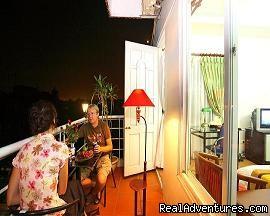 Suite balcony - Hanoi  Mikes Hotel
