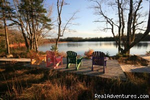 Overlooking East Meadow Lake - Trout Point Lodge Relais & Chateaux Canada