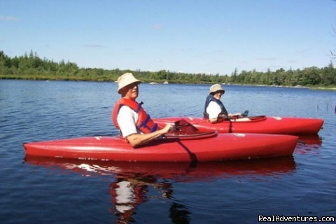 Kayaking the Tusket River - Trout Point Lodge Relais & Chateaux Canada
