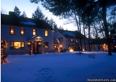 Winter at Riverbend - Romantic Weekends at Riverbend Inn