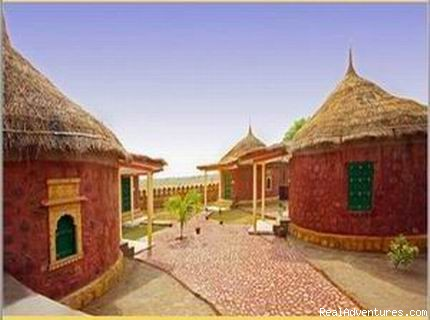 Luxury Cottages - Mirvana Nature Resort near Jaisalmer