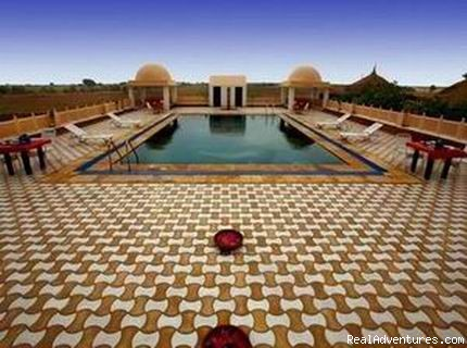 Swimming Pool - Mirvana Nature Resort near Jaisalmer