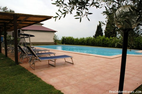 B&B and Holiday-flats in Versilia, Toscana: swimmingpool