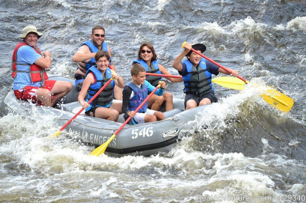 Family Rafing on the Lehigh River | Image #6/26 | Lehigh River Whitewater Rafting in the Poconos PA