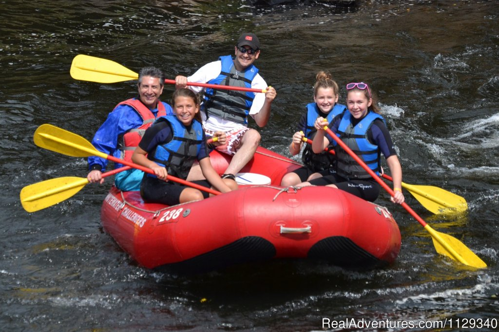 Girl Scout Raftoree at the Lehigh | Image #5/26 | Lehigh River Whitewater Rafting in the Poconos PA