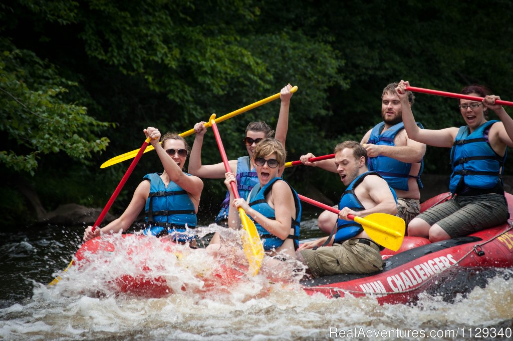 Dam Release Whitewater | Image #3/26 | Lehigh River Whitewater Rafting in the Poconos PA