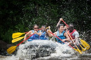 Lehigh River Whitewater Rafting in the Poconos PA Rafting Trips Weatherly, Pennsylvania