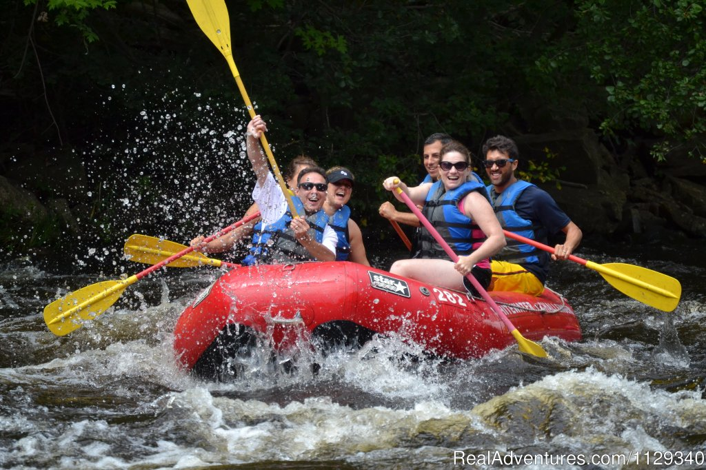 Souvenir Photo Whitewater Rafting on the Lehigh River | Image #16/26 | Lehigh River Whitewater Rafting in the Poconos PA