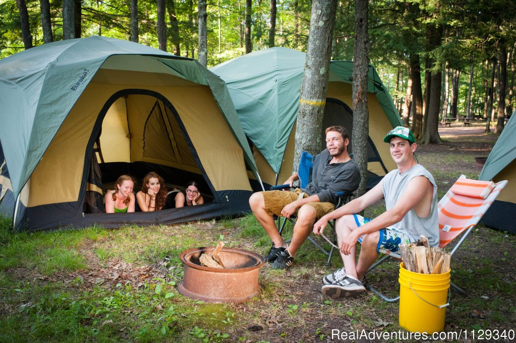 Tent Camping and Tent Rentals | Image #24/26 | Lehigh River Whitewater Rafting in the Poconos PA