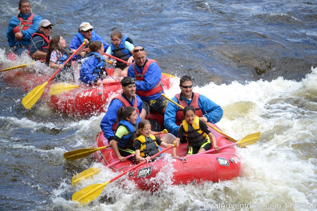 Girl Scout and Family Style Rafting on the Lehigh River | Image #14/26 | Lehigh River Whitewater Rafting in the Poconos PA