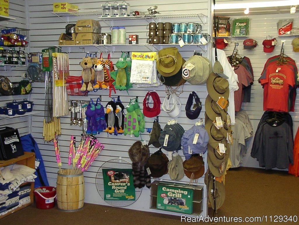 Campground Store at the Adventure Center | Image #25/26 | Lehigh River Whitewater Rafting in the Poconos PA