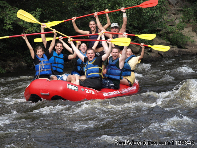 Rafting on the Lehigh River - Adventure Center at Whitewater Challengers
