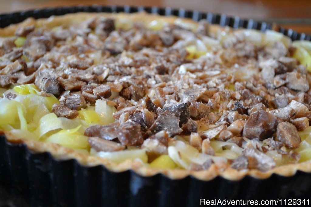Savoury Tart | Image #9/22 | French Country Cooking in the heart of Normandy