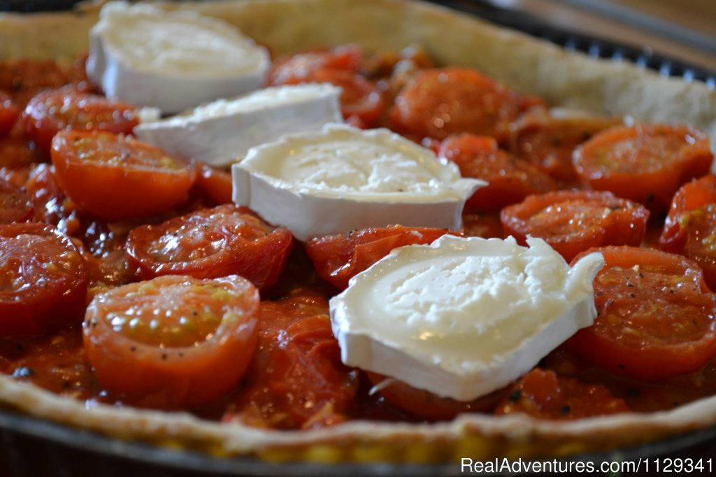 Savoury tart | Image #10/22 | French Country Cooking in the heart of Normandy