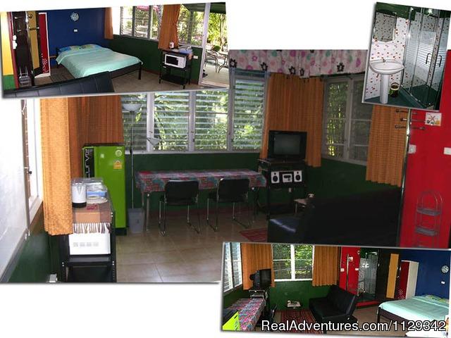 Bungalow -5- - Chiang Mai - Guesthouse & Restaurant Swiss Ticino