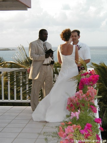 We even do weddings at Coconut Grove! - Life is Good at Coconut Grove Villa.